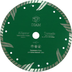 DIAM Alligator 000478 алмазный круг для гранита 230x2,9x8,0xМ14 с фланцем Diam По граниту Алмазные диски