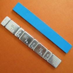 Груз самоклеющийся Fe 60гр (5гр*4+10гр*4), коробка 50шт Rossvik Грузики балансировочные Расходные материалы