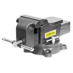 """Тиски слесарные STALEX """"Горилла"""", 100 х 75 мм., 360°, 7,0 кг. Stalex Тиски слесарные Инструмент и оснастка"""