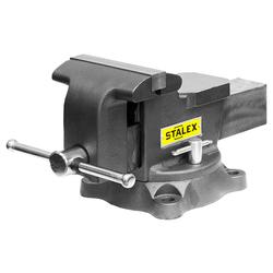 """Тиски слесарные STALEX """"Горилла"""", 150 х 125 мм., 360°, 14,0 кг. Stalex Тиски слесарные Инструмент и оснастка"""