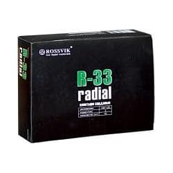 R-33 Пластырь кордовый радиальный 100*125мм (упак. 10шт) Rossvik Радиальные пластыри Расходные материалы