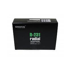 R-231 Пластырь кордовый радиальный 110*155мм (упак. 10шт) Rossvik Радиальные пластыри Расходные материалы