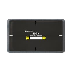 R-23 Пластырь кордовый радиальный 110*185мм (упак. 10шт) Rossvik Радиальные пластыри Расходные материалы