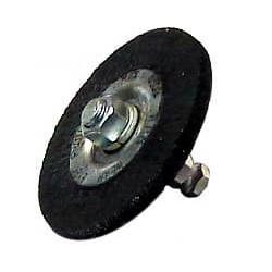 Щетка обрезиненная Rossvik 75х6мм с быстросьемом Rossvik Шиномонтажный Инструмент